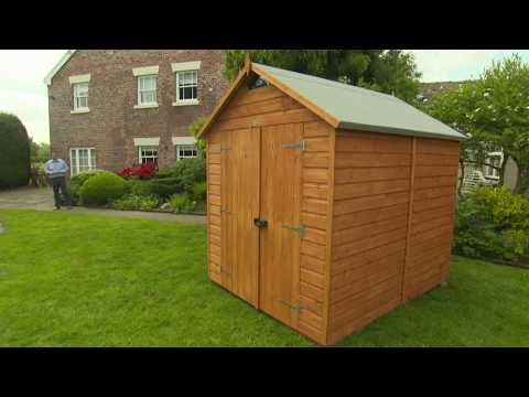Rowlinson Security Shed Range