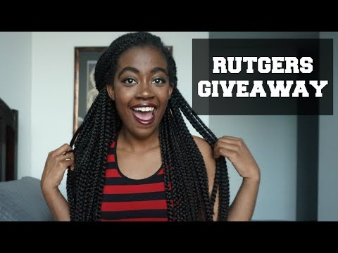 RUTGERS APPAREL TRY-ON & GIVEAWAY(Closed) - Courtesy of Inspirit College