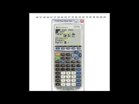 Modified Boxplot TI-83/84 to Identify Outliers