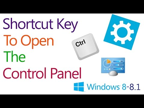 How to Repair Windows 8 Control Panel  Problems  - Simple Trick
