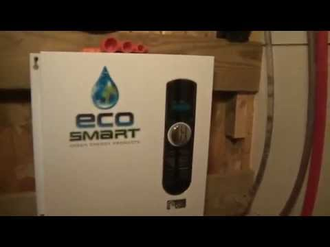 Ecosmart ECO 27 27 KW at 240-Volt Electric Tankless Water Heater Quick Look / Review