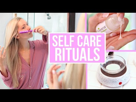 My Self Care Rituals / 10 Ways to Take Care of Yourself