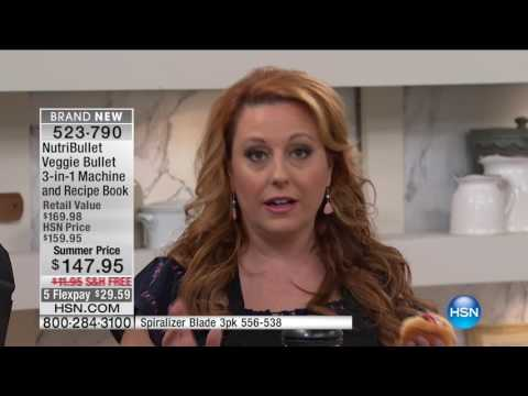 HSN | As Seen On TV featuring Veggie Bullet Premiere 05.08.2017 - 02 AM