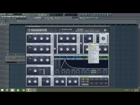 Making a Ambient Pluck In Massive 10 of 90 days