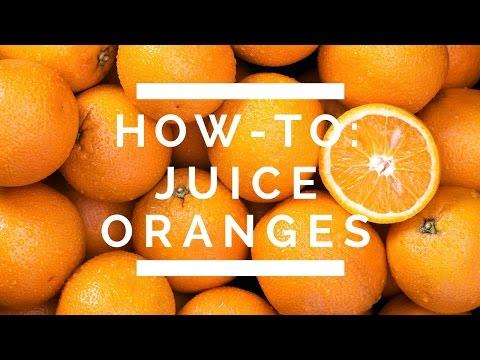 How-To: Juice Oranges