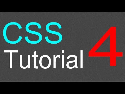 CSS Tutorial for Beginners - 04 - Add a line to header and border property