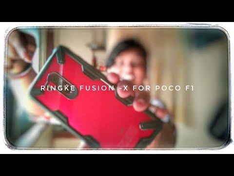 Pocophone f1-ringke fusion-x case (must watch)
