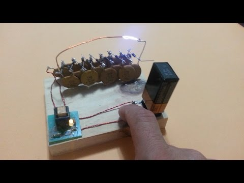 Electric Flyswatter with Voltage Multiplier