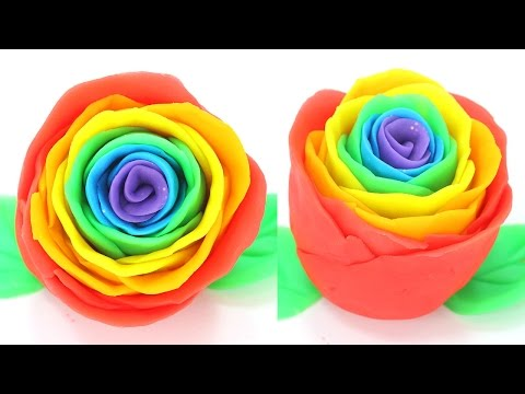 How To Make Rainbow Rose DIY - Eugenie Kitchen