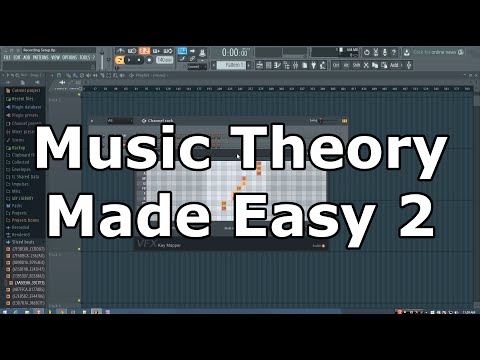 Music Theory Made Easy in FL Studio: p2- VFX Key Mapper