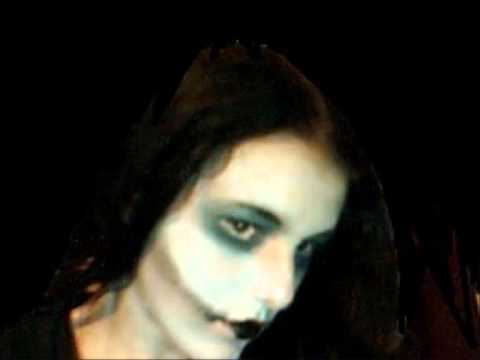Costume makeup video two, corpse bride