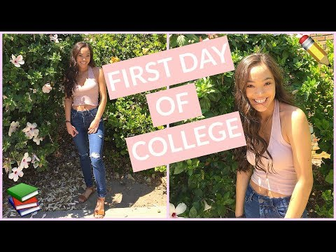 Get Ready with Me: First Day of School 2017 | College Edition