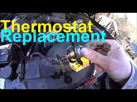 Thermostat Location and Replacement + Diagnosis - GM 5.7L Escalade Tahoe Yukon Avalanche Silverado