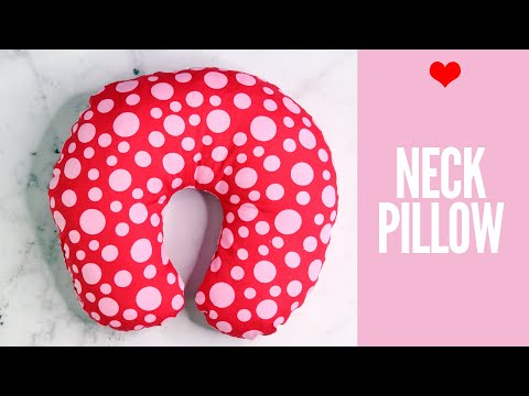 Neck Pillow Tutorial | Travel Pillow