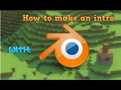 Blender Tutorial | How to make a Minecraft intro!