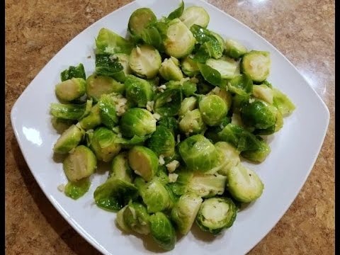 EASY Sauteed Brussel Sprouts with Butter recipe -  99 CENTS ONLY STORE