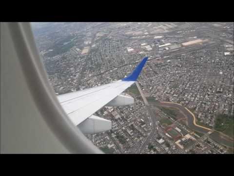Jetblue E190 Newark - Boston Full Flight