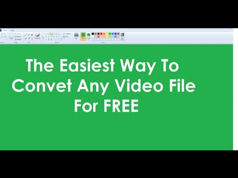 The Easiest Way To Convert Any Video Files For Free. Converting Video Files