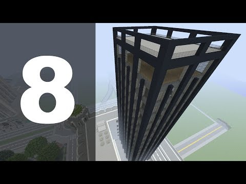 Minecraft Let's Build : 70's Style Skyscraper - Part 8