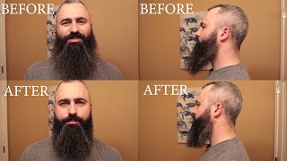 How I Trim My Beard and bonus baby pictures!