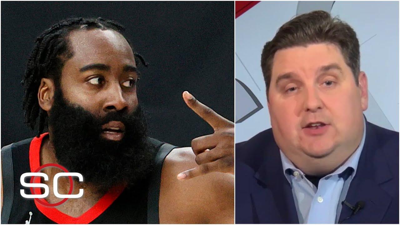 Brian Windhorst explains why the Rockets chose Nets over 76ers for James Harden   SportsCenter