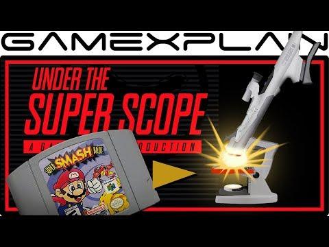The Origin of Super Smash Bros. - Under the Super Scope