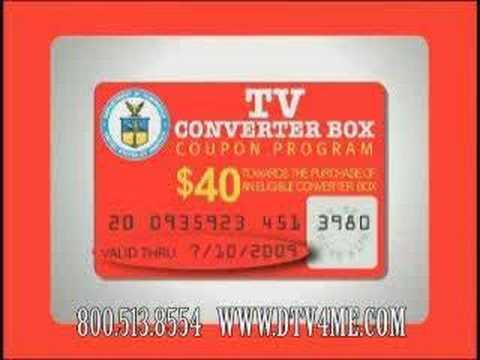 Digital to Analog TV Converter Box Coupon Program