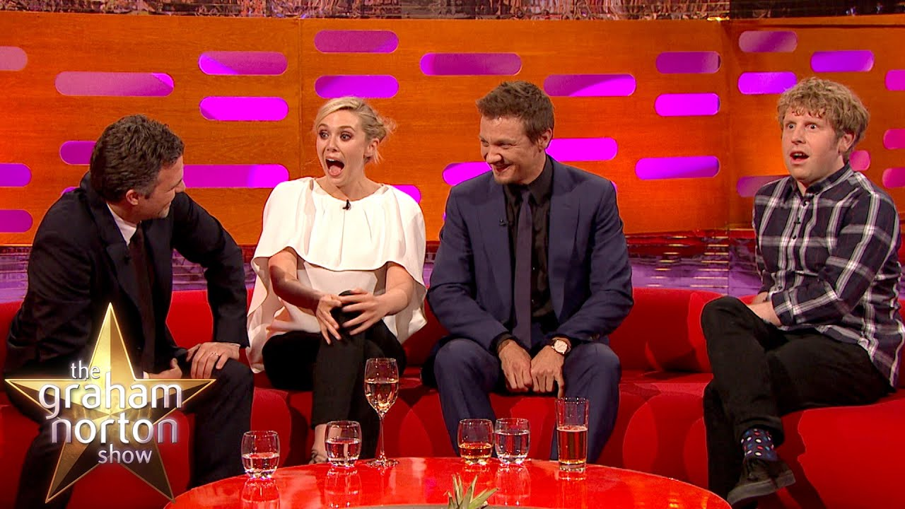 Mark Ruffalo Insults Josh Widdicombe - The Graham Norton Show
