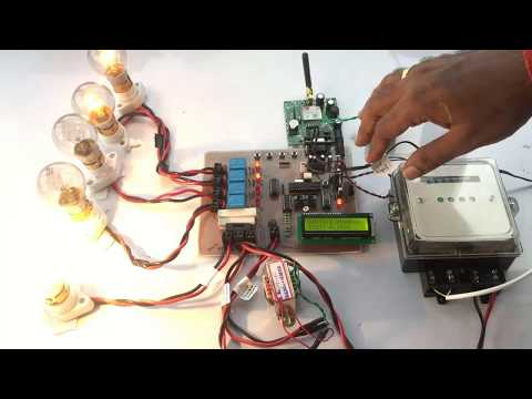 Bill Prediction and Power Factor Measuring with SMS Alert