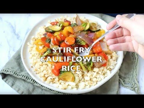 How to make: Low Carb Cauliflower Rice Stir Fry