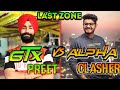 Alpha Clasher VS Gtx Preet Fight In Last Zone First Time In My Channel
