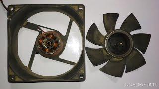 Cooling FAN repair in ZyXEL NAS 320 - How to fix noisy fans - PakVim