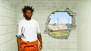 PRISON BREAK ESCAPE! (GTA 5 Mods)