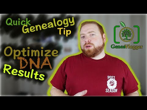 Optimize DNA Results by Uploading to Free Databases (Quick Genealogy Tip #16)