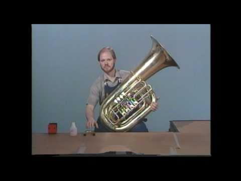 Tuba Repair #8  Sluggish Rotary Valves - Jeff Funderburk