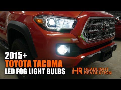 2015+ Toyota Tacoma LED Fog Light Bulb Upgrade and Install | Headlight Revolution
