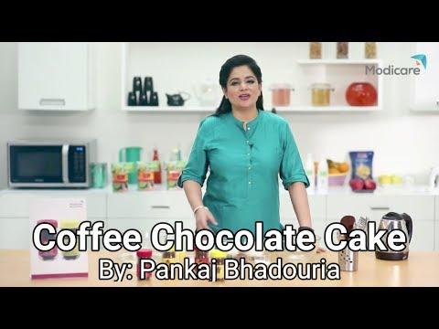 Eggless Coffee Chocolate Cake