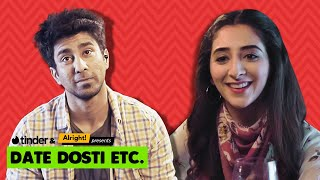 Date Dosti Etc. | Ft. Kritika Avasthi, Ambrish Verma | Honest First Tinder Date