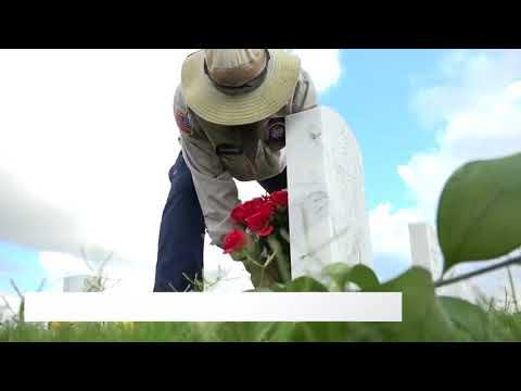 Veterans take care of fallen buried at Fort Sam Houston