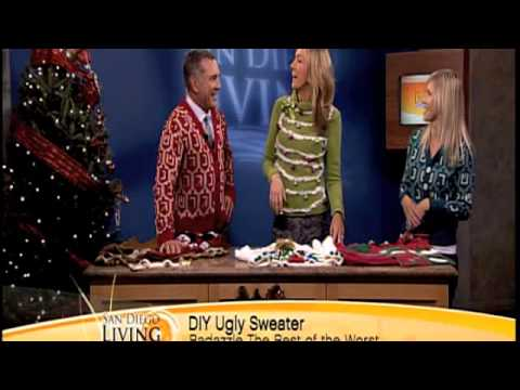 San Diego Living Ugly Sweater Segment