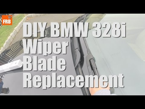 BMW 2007 328i Coupe (E92) DIY Wiper Blade Replacement