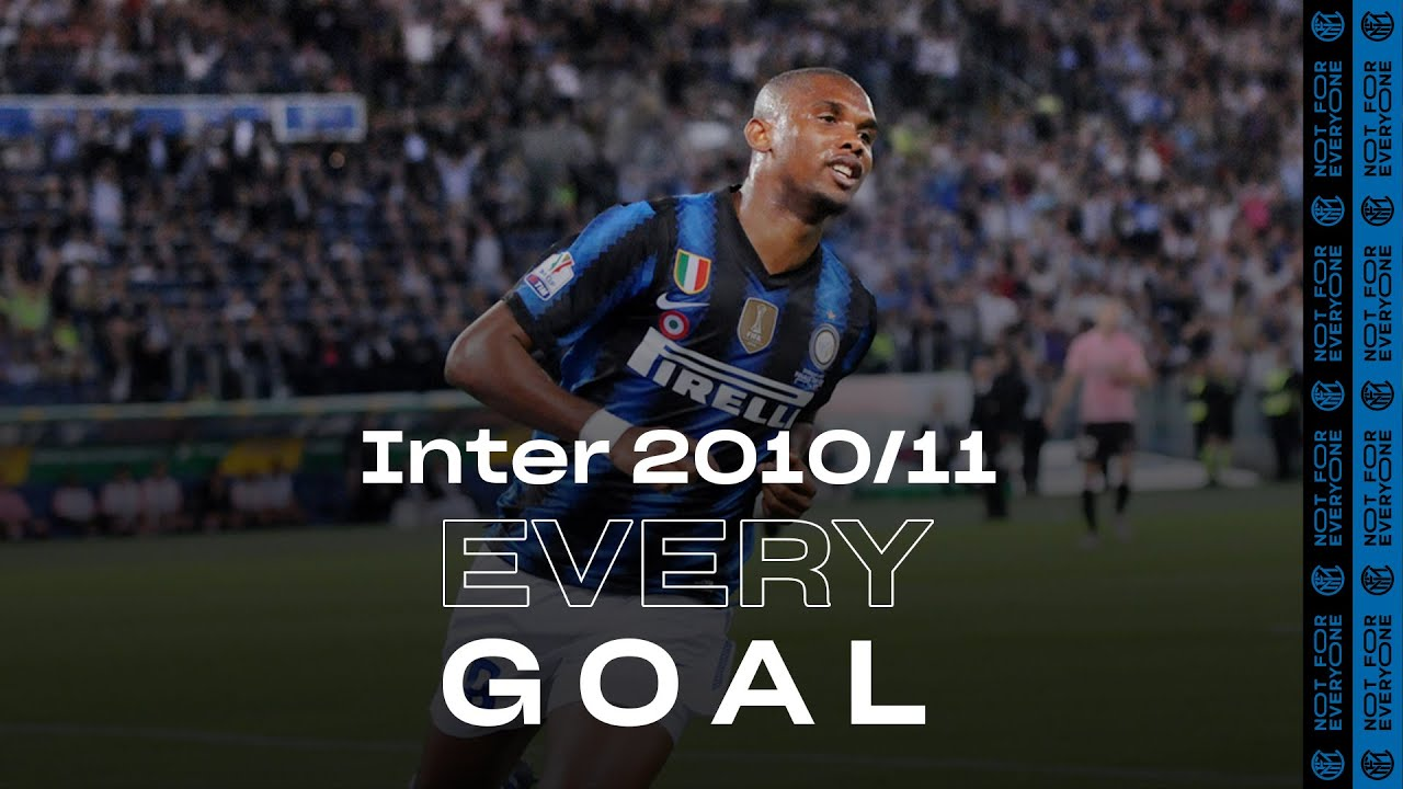 EVERY GOAL! | INTER 2010/11 | Eto'o, Milito, Sneijder, Stankovic, Coutinho and many more... ⚽⚫🔵😮