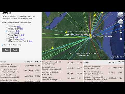 How to find alignments using Geo II