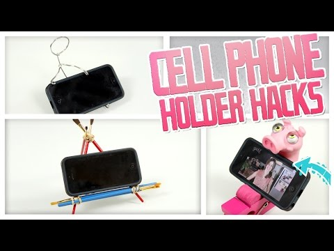 DIY Cell Phone Holder Hacks! - Do It, Gurl