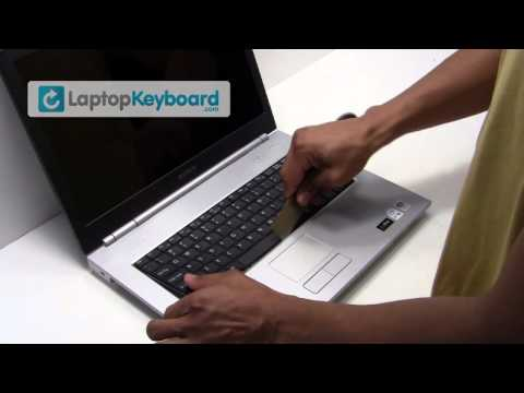 Sony Vaio Laptop Keyboard Installation Replacement Guide - Remove Replace Install