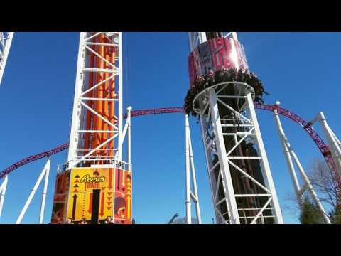 Hersheypark's Triple Drop Tower