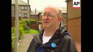 UK: LOCKERBIE: TOWN STILL SCARRED BY PAN AM FLIGHT 103 DISASTER