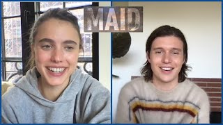 Netflix's MAID Interviews - Margaret Qualley, Nick Robinson, Andie MacDowell, Anika Noni Rose