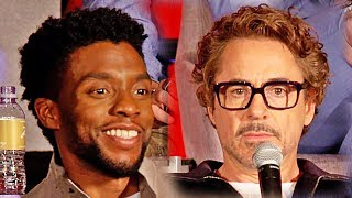 Avengers 3: Infinity War - LA press conference (2018)