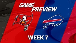 Tampa Bay Buccaneers vs. Buffalo Bills | Week 7 Game Preview | Move the Sticks